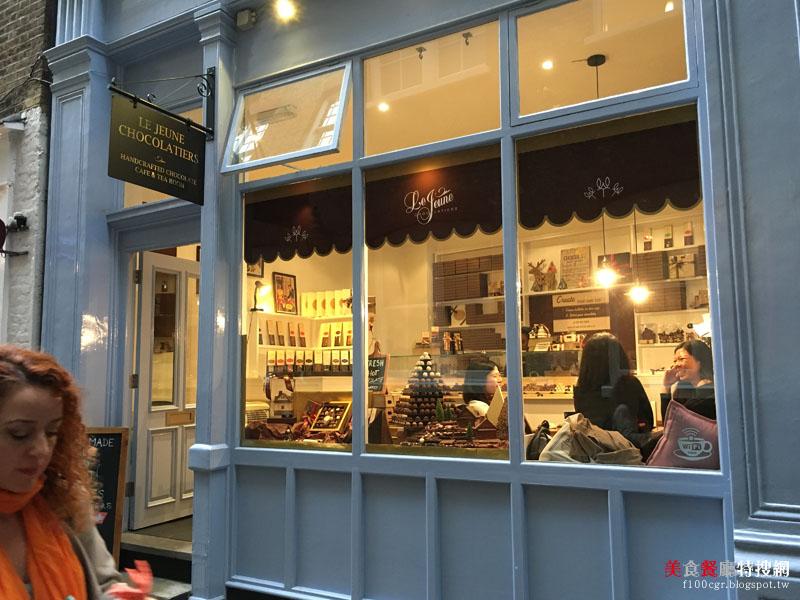 [英國] 倫敦/柯芬園【Le Jeune Chocolatiers】隱藏在巷弄內的頂級瑞士巧克力