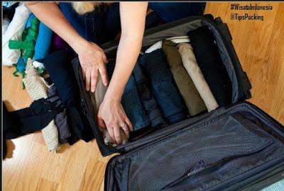 Cara Menyusun Pakaian di dalam koper | Tips Wisata