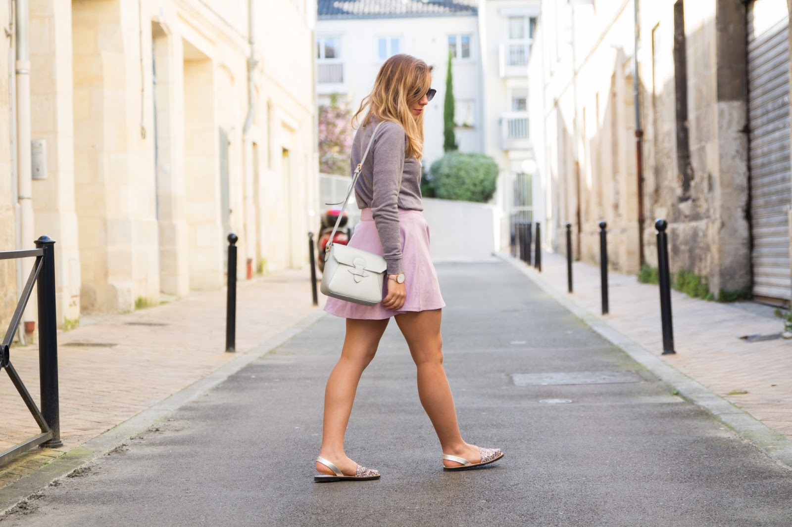 jupe violette