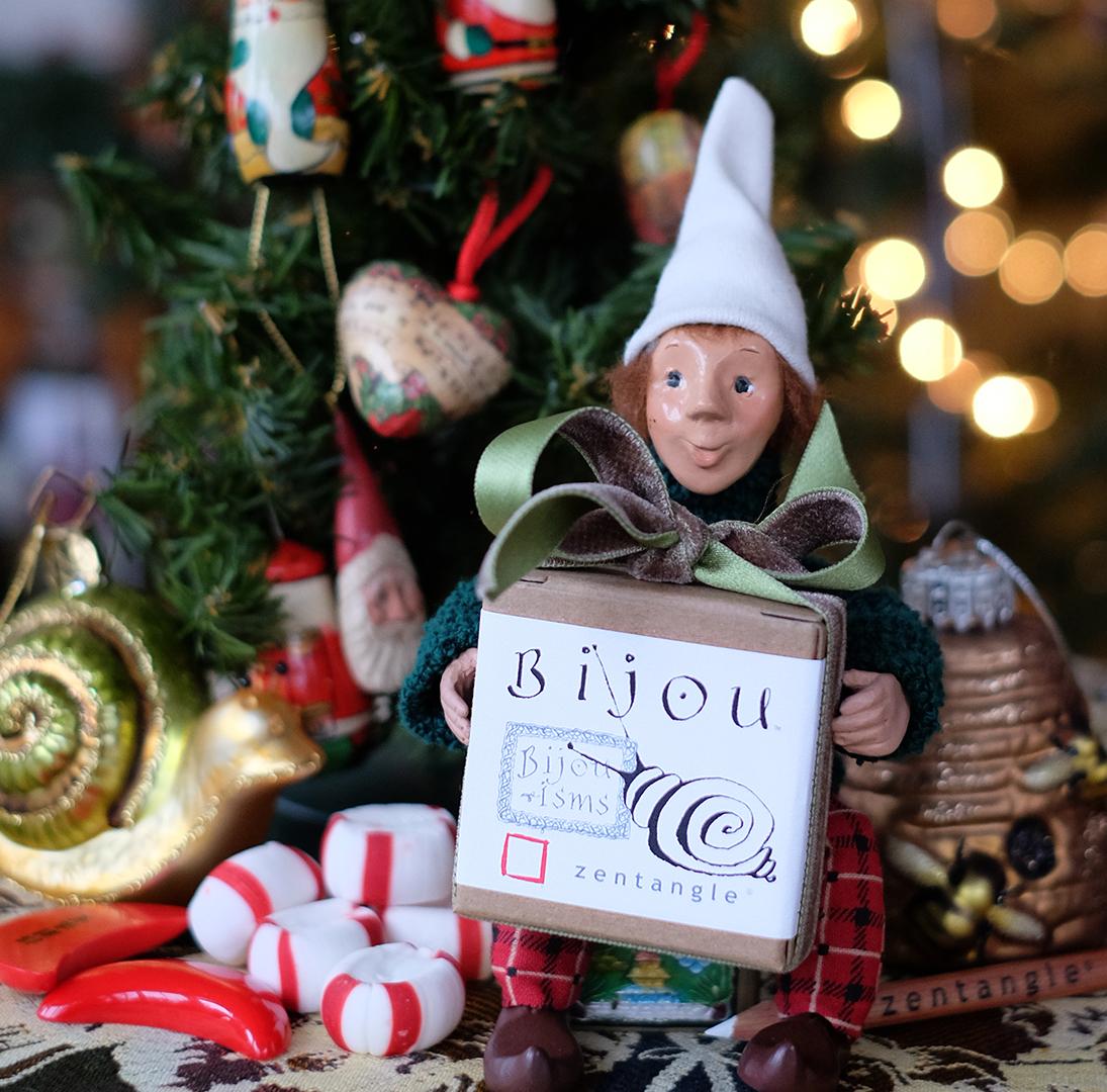On The Twelfth Day Of Christmas.Zentangle On The Twelfth Day Of Christmas Bijou Gifted Me