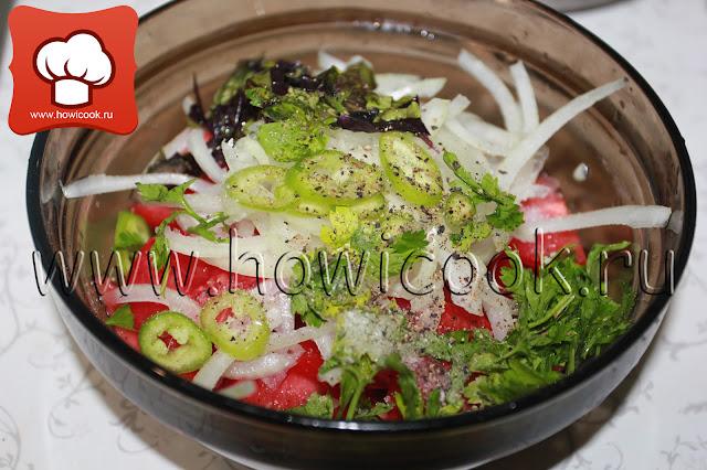 рецепт салата ачучук с фото