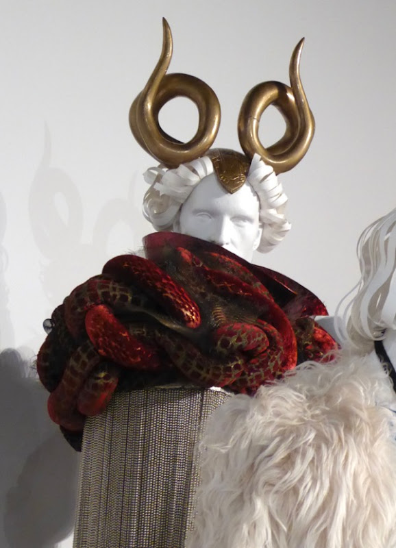 Zoolander 2 Jacobim Mugatu costume detail
