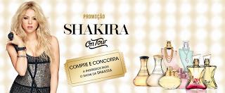 """Promoção """"Shakira Fragrances"""" blog topdapromocao.com.br facebook instagram"""