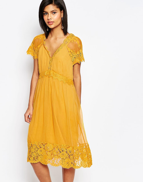 french connection gold dress,