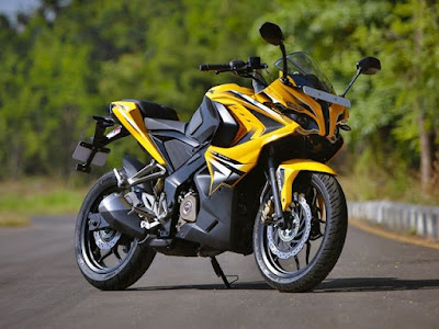 Bajaj Pulsar RS 200 Compact supersport bike