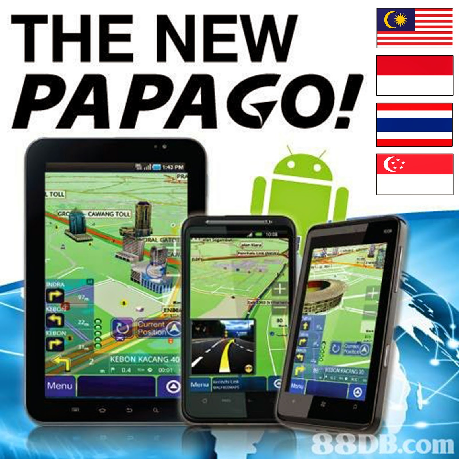 papago m11 for android mobile