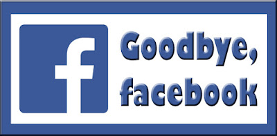goodbye, Facebook Hello, God clipart