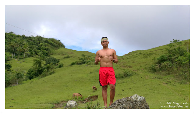 FaceCebu Blogger, Mark Monta at Mt. Mago Peak