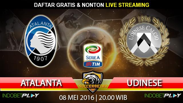 Prediksi Atalanta vs Udinese 08 Mei 2016 (Liga Italia)