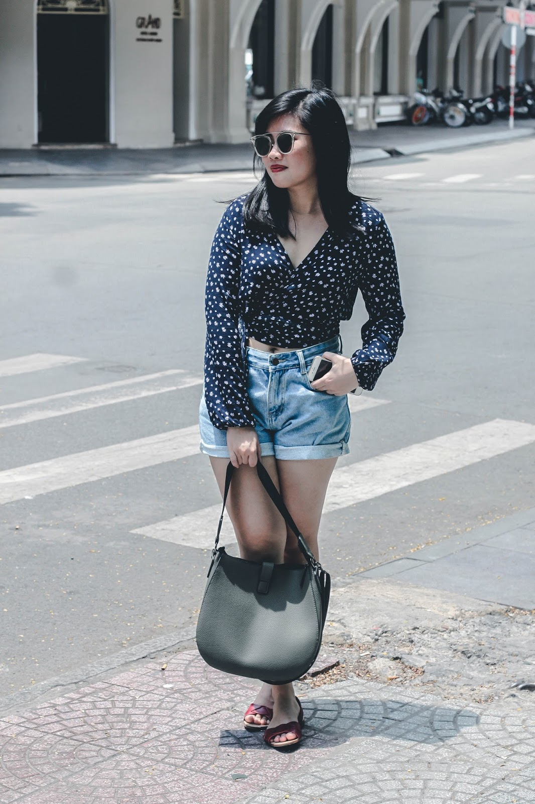 singapore blogger style stylist photographer street style look book fashion fashionista wiwt ootd stylexstyle denim the gentle monster shades saigon weekend trip vietnam inspiration