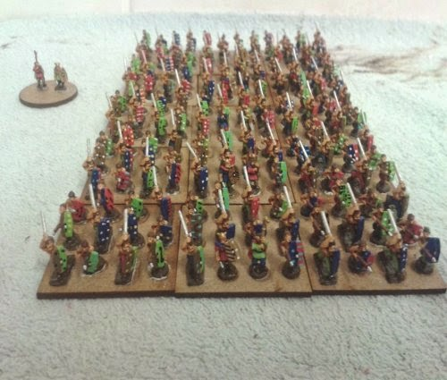 Another Gallic/Celtic division completed that now makes 28 warbands picture 1