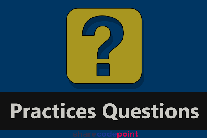 MTH166 : Differential Equations Practices MCQ Questions Unit 1 part a, b, c, d - MTH 166