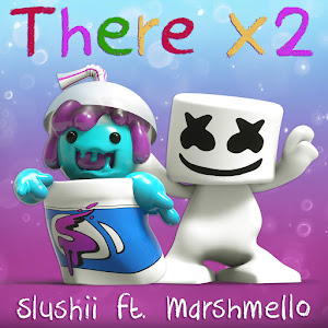Slushii - There X2 (feat. Marshmello) - Single Cover