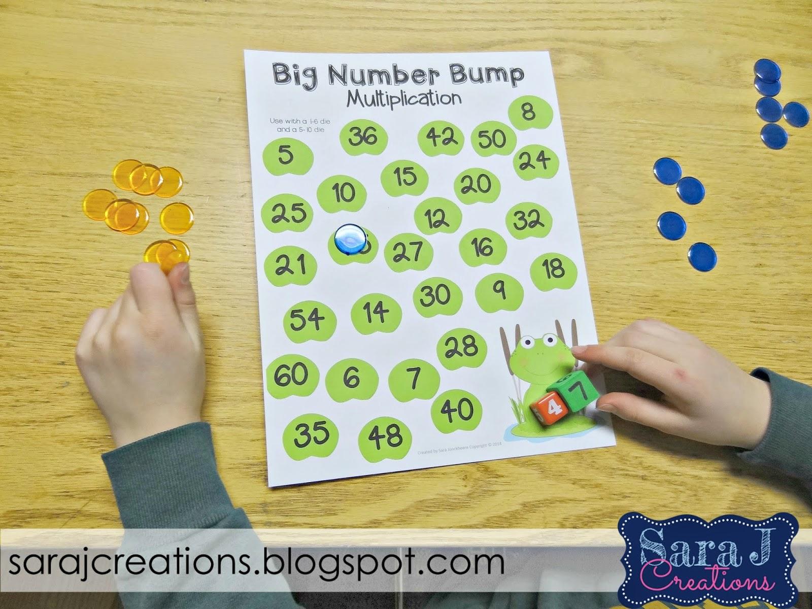 Practicing Basic Math Facts - Sara J Creations