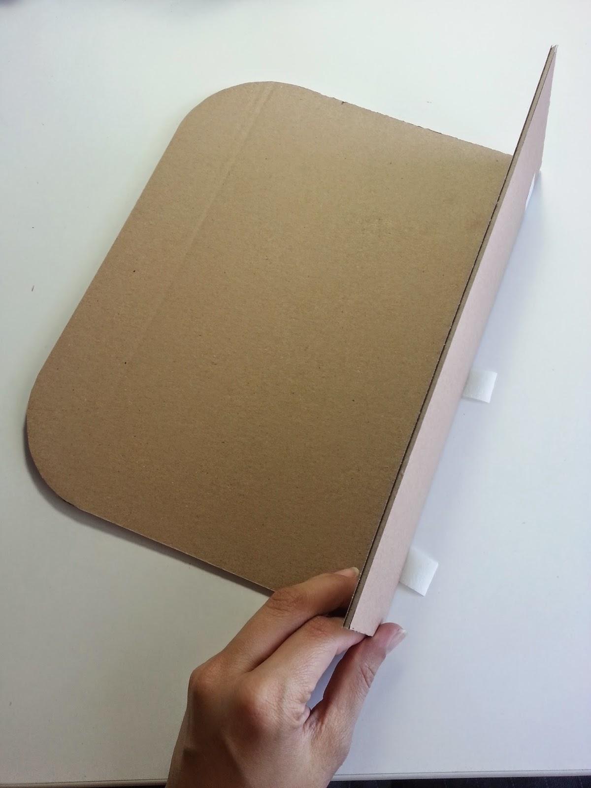 DIY como hacer una maleta. scrap. scrapbooking. carton. decoración. escaparatismo