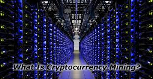 What is cryptocurrency mining webopedia definition