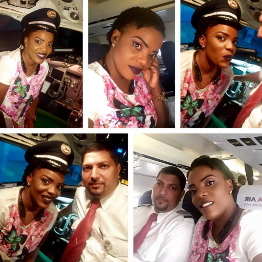empress njamah air hostess