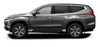 Mitsubishi Pajero Warna Grey Atau Titanium Grey Metallic