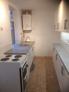 Terraced house kitchen