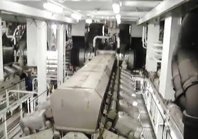 Marine Engine of Oasis of the Seas