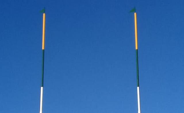 Río Grande Rugby instaló las H de la cancha 1