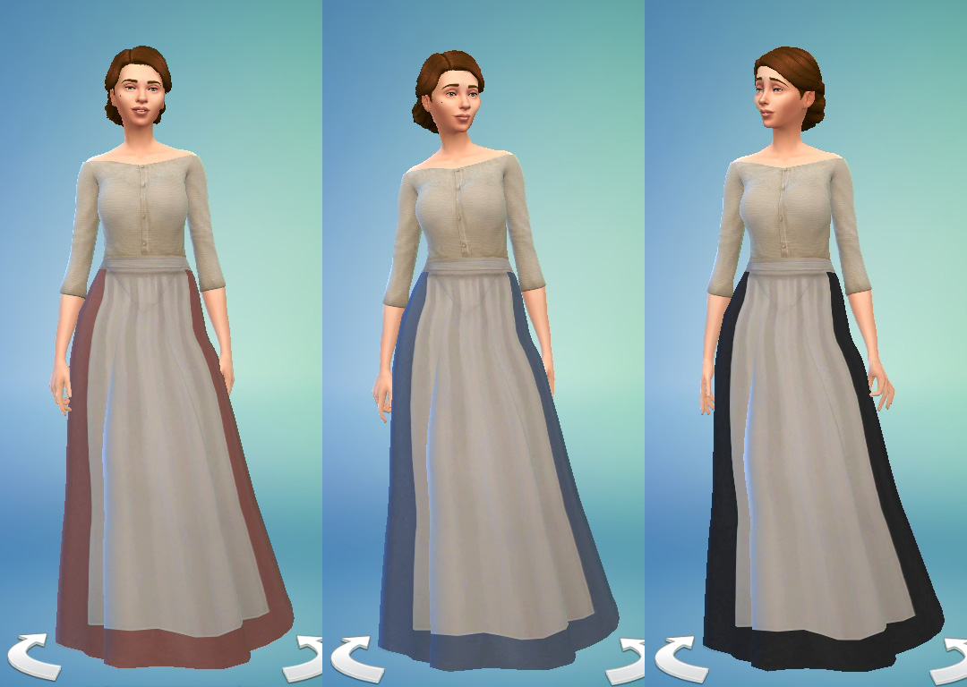Ts4 Medieval Peasant S Dress History Lover S Sims Blog