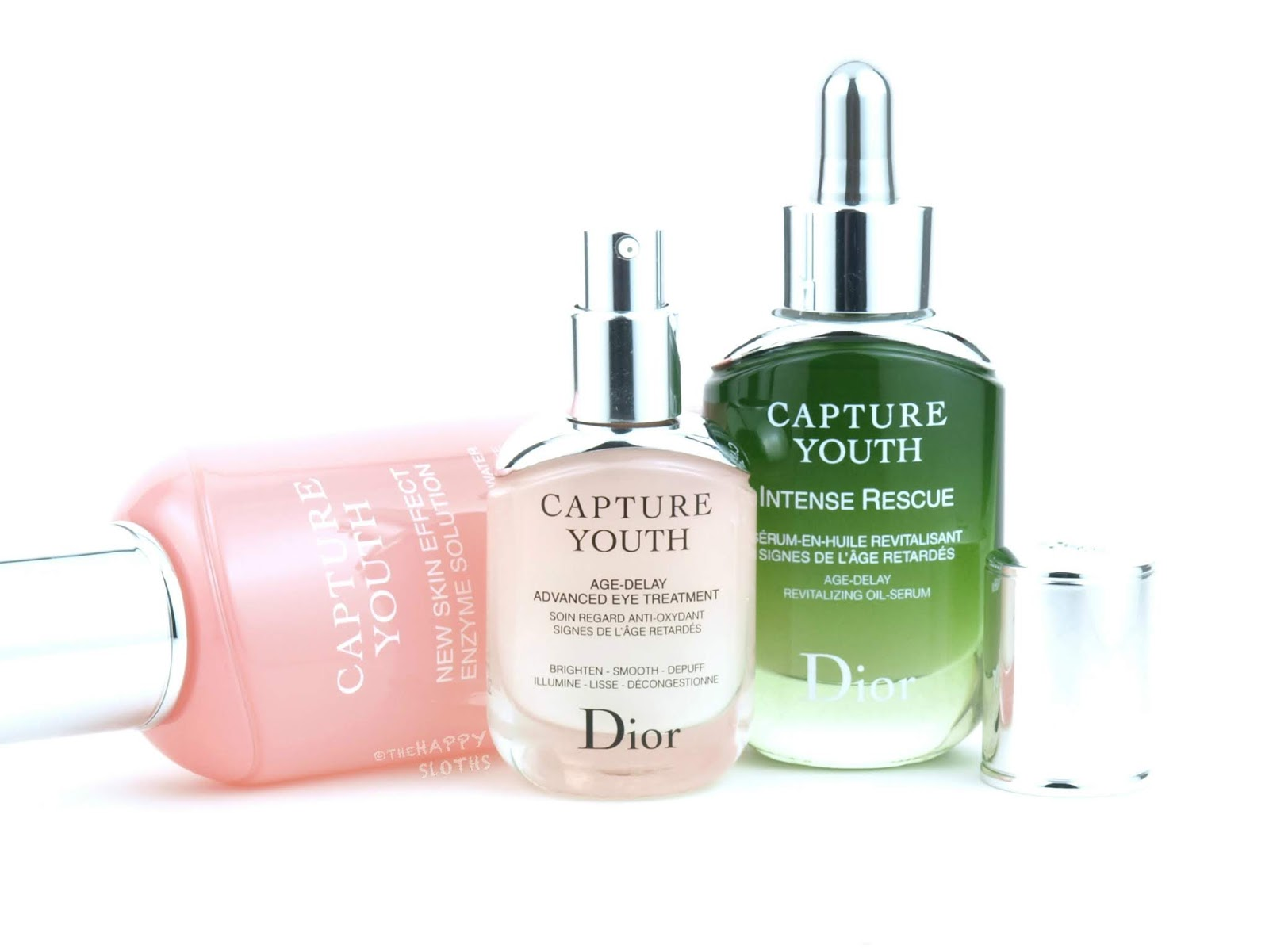 Dior | Youth Capture Age-Delay Resurfacing Water, Age-Delay Advanced Eye Treatment & Intense Rescue Age-Delay Revitalizing Oil-Serum: Review