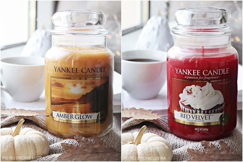 yankee candle red velvet i amber glow