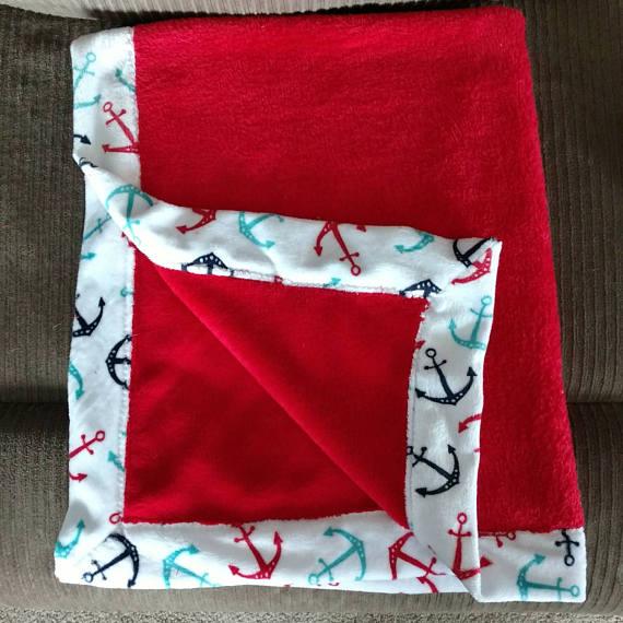 Fairytale Designs Double Sided Minky Fleece Blanket