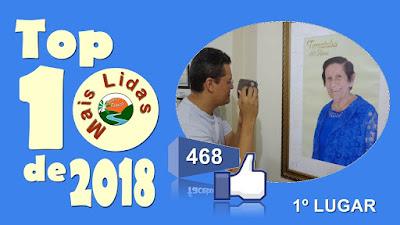 Top 10 de 2018 - 1º lugar