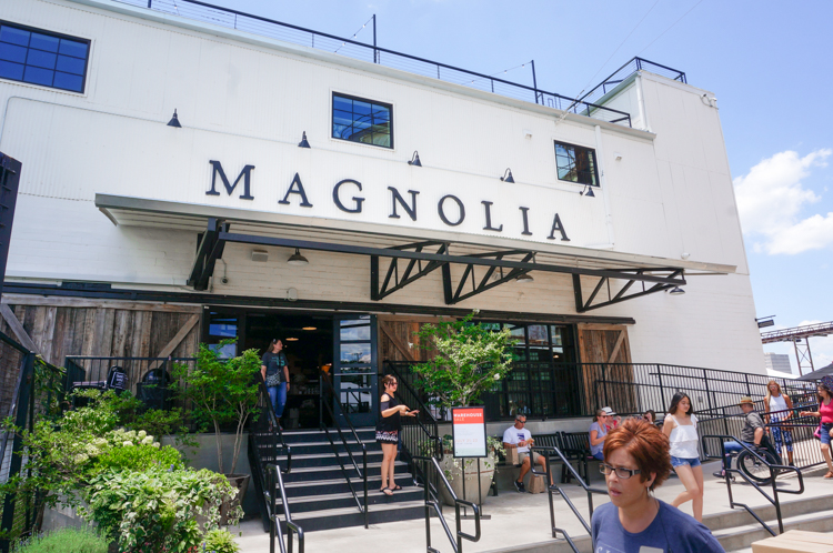 Visiting Magnolia Silos in Waco