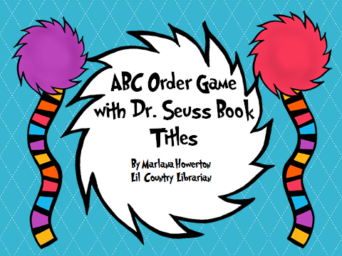 http://www.teacherspayteachers.com/Product/ABC-Order-Game-with-Dr-Seuss-Book-Titles-Read-Across-America-1142609