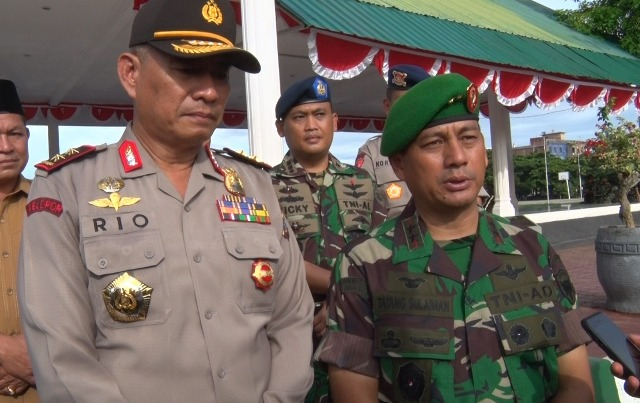Pangdam IM Mayjen TNI Tatang Sulaiman Himbau Agar Demo Super Damai Berjalan Tertib