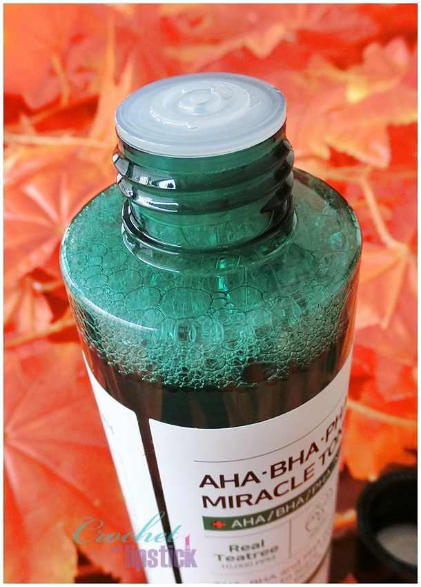 Some By Mi AHA BHA PHA 30 Days Miracle Toner Bottle