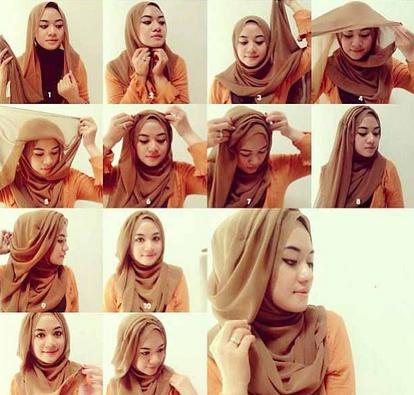 Tips Cara Memakai hijab Sesuai Bentuk Wajah