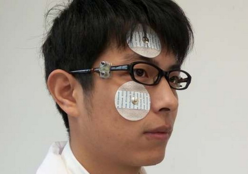 Tinuku Eyeglass move device just by blinking eyes