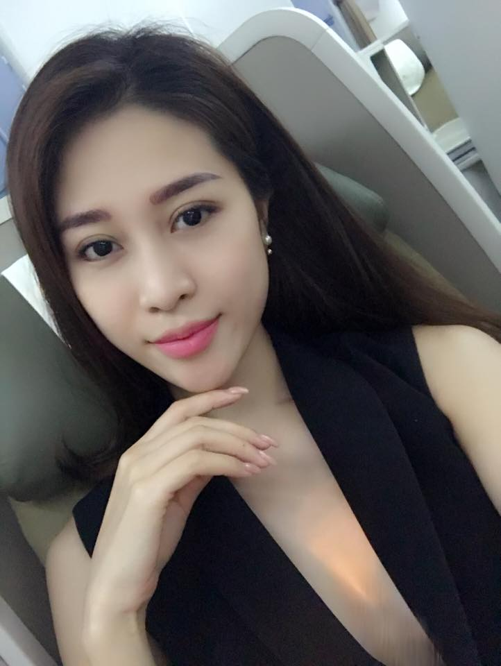 Nữ diễn viên Trần Cẩm Nhung với gương mặt đẹp và khả ái