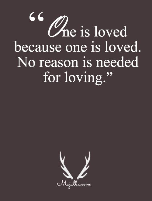 No Reasons Indeed