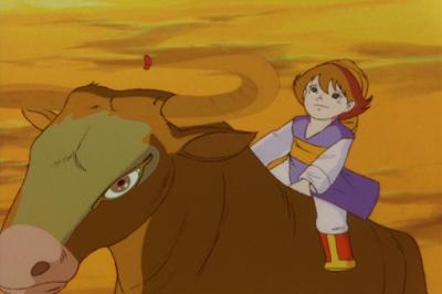 Tenguri, Boy of the Plains