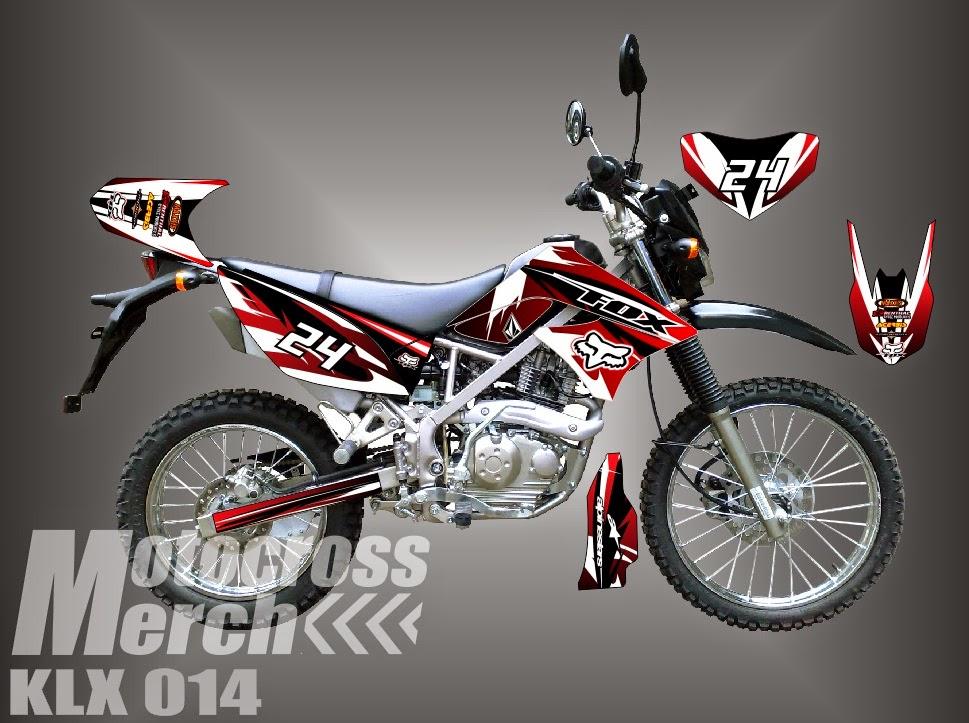 STRIPING  DECAL  STIKER MOTOR CUSTOM decal klx 150