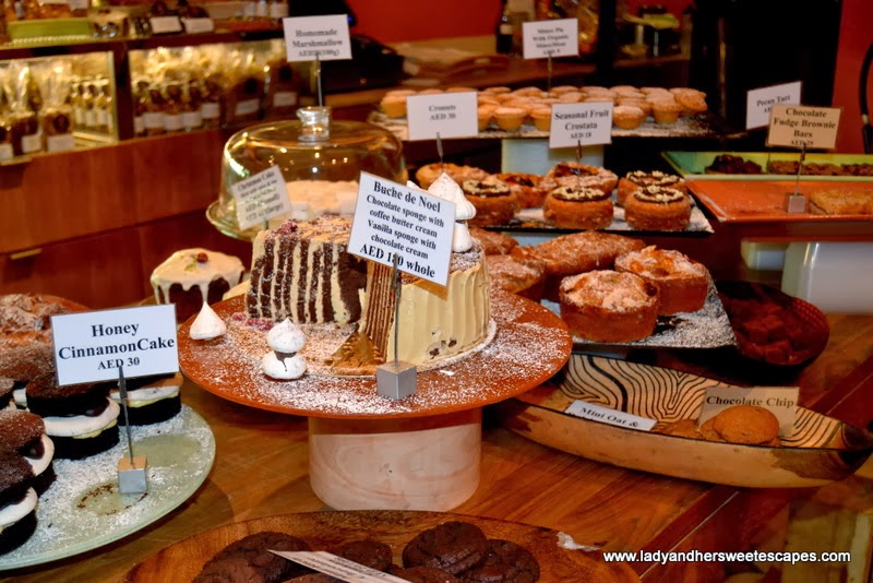 Baker & Spice's delicious pastries