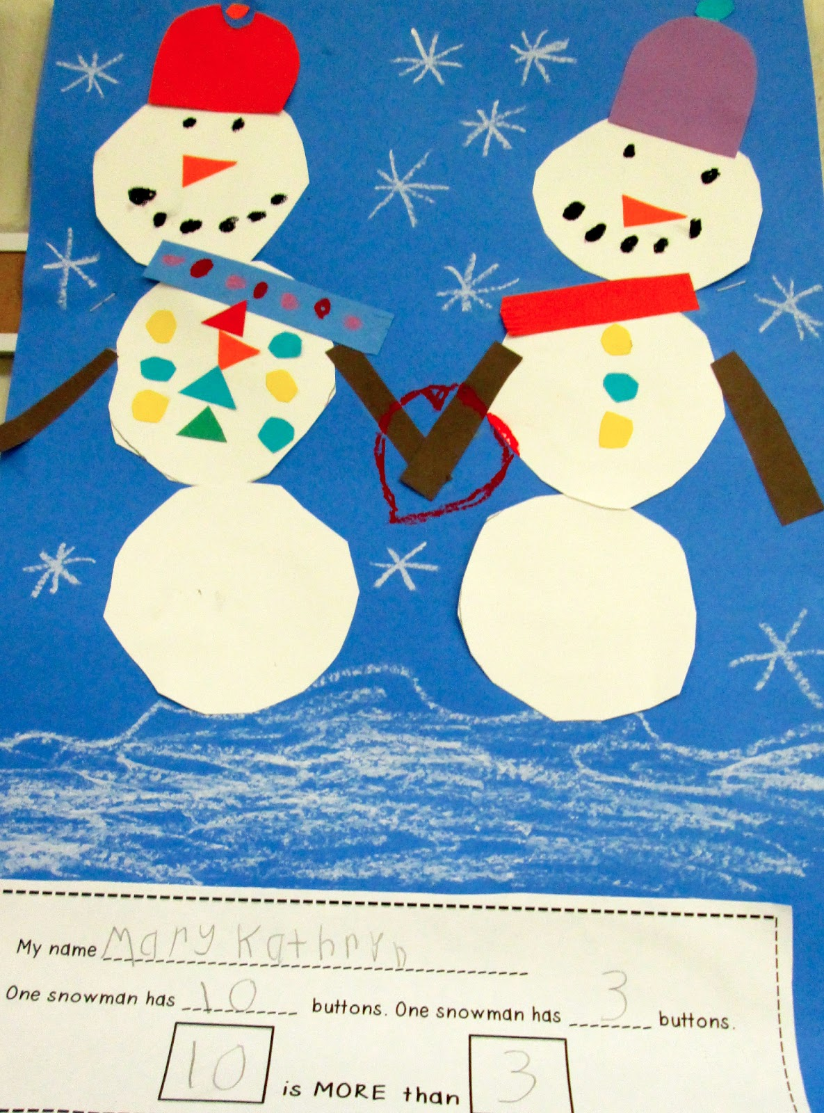 Snowman Math And Literacy Projects