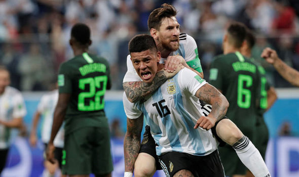 FIFA World Cup 2018: Nigeria 1 - 2 Argentina | Argentina In The List Of last 16