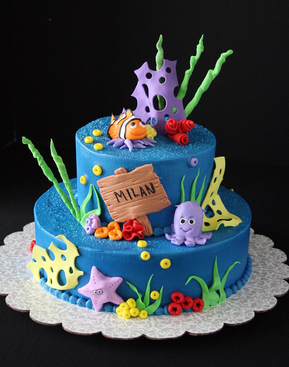 Water Slide Cake Ideas