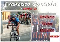 Francisco Quesada, del Pemoy SD, temporada 2017