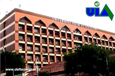 Daftar Fakultas dan Program Studi UIA Universitas Islam As-Syafiiyah
