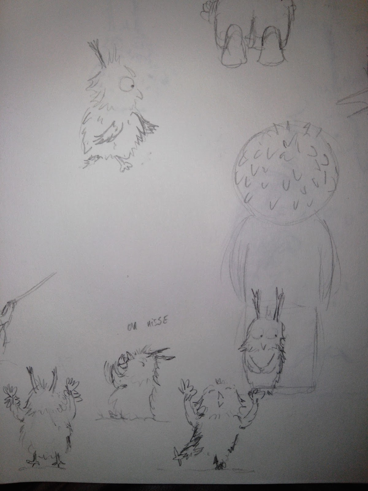 "recherche de persos ""character design"" hibou owl croquis sketches"