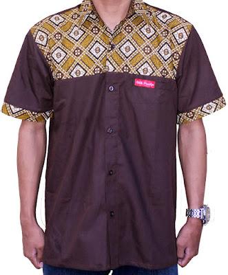 Baju Batik Pria Modifikasi Terbaru
