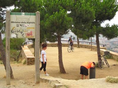Mirador dels Xiprers in Barcelona
