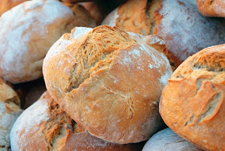 Crusty Suffolk bread